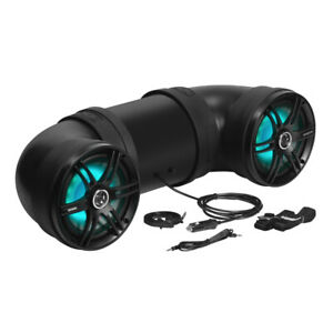 "Soundstorm BTB8L 8"" 700W Bluetooth Amplified Marine/ATV Off Road Speaker System"