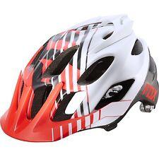 Fox Flux Savant Red Helmet Size L/XL