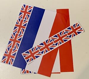 Union Jack Paper Chain Pack Red White Blue UK Party