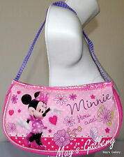 Minnie Mouse wallet handbag Shoulder clutch Hand Wristlet Tote Crossbody Bag NWT
