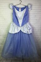 Disney Cinderella Princess Deluxe Ball Gown Fancy Dress Costume Womens Size L