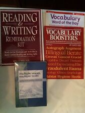 READING RESOUCE BOOKS LOT OF 4 Reading & Writing Remediation Kit Strategies +3