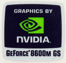 NVIDIA GEFORCE 8600M GS STICKER LOGO AUFKLEBER 18x18mm (802)