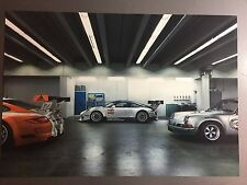 2017 Porsche 911 GT3 R Coupe Showroom Advertising Sales Poster RARE Awesome L@@K