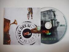 EMZEL CAFE : AVEC DES SI [ CD SINGLE ] ~ PORT GRATUIT