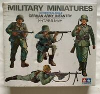 Tamiya Model Military Miniatures German Army Infantry 1:35 Scale SEALED