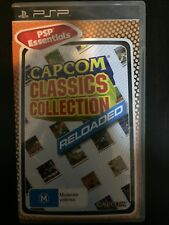 RARE PSP Game Capcom Classics Collection RELOADED (VERY GOOD COND) Playstation
