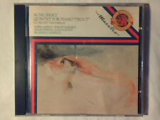 "RUDOLF SERKIN Schubert: quintet for piano ""trout"" cd HOLLAND COME NUOVO LIKE NEW"