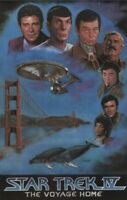 STAR TREK IV ~ VOYAGE HOME GOLDEN GATE 18x28 MOVIE POSTER William Shatner Nimoy