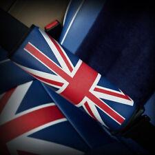 British Flag Style Red+Blue Car Safety Seat Belt Shoulder Pad Cover Car Supply
