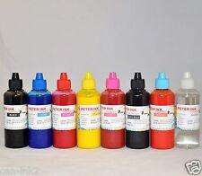 8X100ML PIGMENT Ink refill For Epson R1900 printer cartridge cis ciss T087