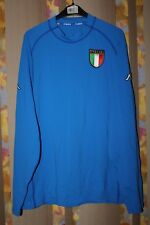 ITALY NATIONAL TEAM 2000 2001 2002 LONG SLEEVE JERSEY SHIRT MAGLIA KAPPA SIZE