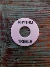 PLAQUE RONDE RHYTHM CREAM Switch RING Toggle TREBLE CREME GUITARE GIBSON
