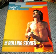 ROLLING STONES TEAR-OUT PHOTO BOOK 1993 20 COLOR PHOTOS