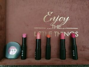 CYO (Boots No.7) Lip Bundle - (6 Items) Lipstick and powder blush