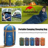 Naturehike Ultralight Thermal Outdoor Camping Envelope Sleeping Bag 1.9x0.75m
