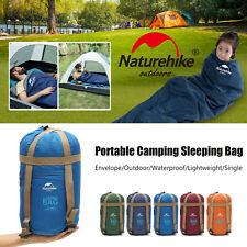 Naturehike Ultralight Thermal Outdoor Camping Envelope Sleeping Bag 1.9x0.75m