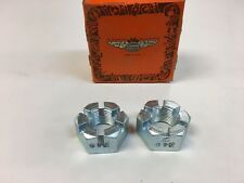 "2 x NOS Dorman 3/4"" Axle / Spindle Castle Nut Ford Chevrolet Mopar Trailer N40"