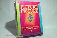 Picture Picture Board Game Golden 1992 COMPLETE (read description)