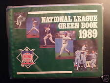 1989 National League Green Book-Los Angeles Dodgers Kirk Gibson