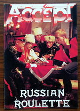 Carte postale  Accept, Russian roulette  ,CPSM