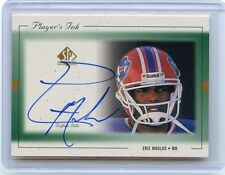 1999 SP AUTHENTIC #EM-A ERIC MOULDS AUTOGRAPH AUTO, BUFFALO BILLS, 101113