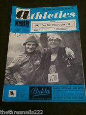 ATHLETICS WEEKLY - PAUL NIHILL & RON LAMB - DEC 4 1971