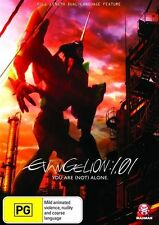 Evangelion 1.01 - You Are [Not] Alone (DVD, 2009) New Region 4 Sealed