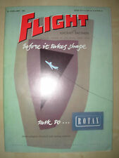 FLIGHT AND AIRCRAFT ENGINEER FEBRUARY 18th 1955 ROTAX ELECTRICAL SYSTEMS