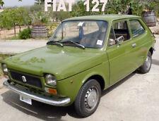 Fiat 127 benzina. CD manutenzione e revisione professionale. In italiano.