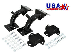 1968-72 Chevy Truck and GMC Truck Tubular V-8 Engine Mount Brackets