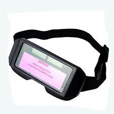 Occhiali maschera protettiva per saldatura a oscuramento automatico autoscuranti