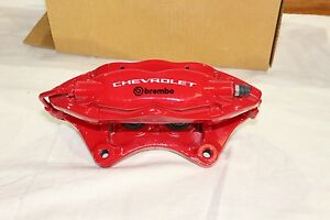 GM Brembo Red Rear Passenger Brake Caliper Chevy Camaro SS 6.2L 2011-2015