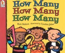 How Many, How Many, How Many by Rick Walton (1996, Paperback)