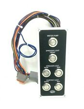 Sea Fox Boats Spreader / Courtesy Light / Mister Pump Lighted Switch Panel