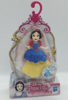 """Disney Princess Royal Clips Figure Snow White Hasbro Approx 3.5"""" Collectable Toy"""