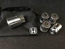 Honda OEM Wheel Lock Set Locking Lug Nuts (Acura Too)