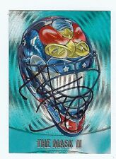 """MARC DENIS 2002-03 The Mask II """"Between The Pipes"""" ITG Hockey - SIGNED AUTOGRAPH"""