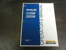 New Holland 310gm 320gm Finish Mowers Operators Manual 87757958