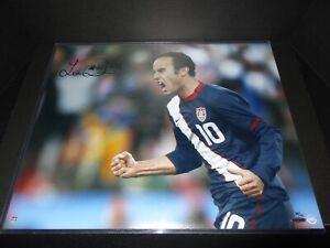 Upper Deck Authenticated Landon Donovan Signed Auto 16 x 20 Autograph Photo UDA