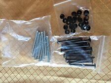 Black Plastic Shutter Nails Spikes For Vinyl Exterior Shutters *New*