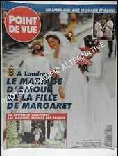 POINT DE VUE Mariage Lady Sarah Armstrong Jones Liechtenstein Vignerme Faiza