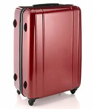 Support 4 roues spinner abs coquille dure rollercase valise rouge rrp £ 89.99 tsa