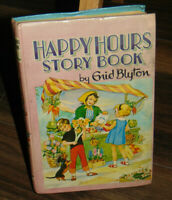 Enid Blyton Happy Hours Story Book Vintage Hardback Book 1964 First Edition?
