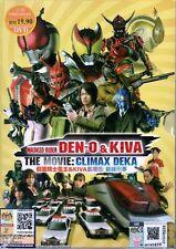 Kamen Rider Den-O & Kiva: Climax Deka DVD with English Subtitle