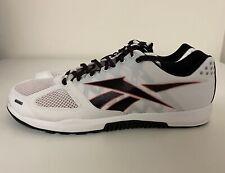 Reebok Nano 2.0 White Black Red Mens Sz 10 CrossFit Training Shoes DV5748 NEW!!!