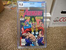 Avengers 308 cgc 9.8 Marvel 1989 She-Hulk Thor Cap Namor Submariner cover WHIT p