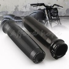 1Inch 25mm RC Black Handle Grips Fit for For Harley Sportster XL 1200 883