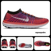 NIKE FREE RN MOTION FLYKNIT MEN'S TRAINERS SIZE UK 8.5/EUR43 [834584 600] BNIB