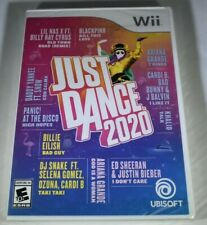 Wii Just Dance 2020- Rated E-Everyone- New Sealed Package